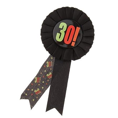 Premio Cinta Roseta Insignia Broche Pin Adulto Cumpleaños Fiesta Favor Cenefas - 30