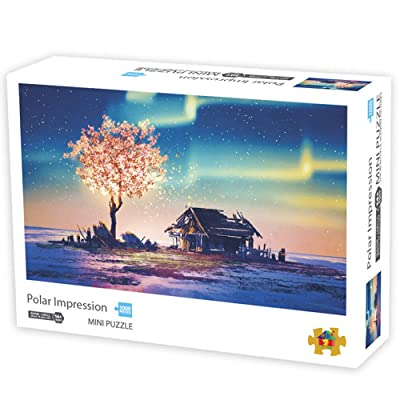 Jigsaw Puzzles for Adults Kids | VIWIK Polar Impression 1000 Piece Jigsaw Puzzles | Gifts for Mother's Day Toys for Boys and Girls Kids 16.5x11.7 inch: Toys & Games