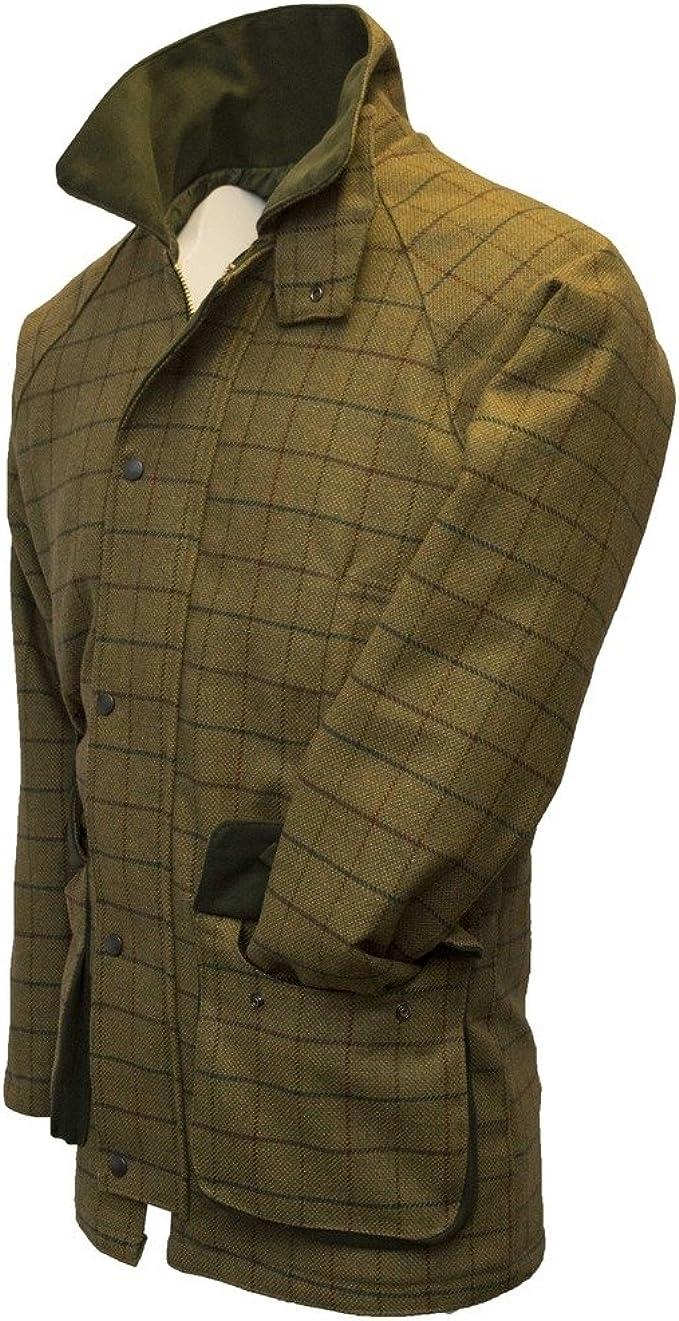 Chasse//Campagne Tweed Veste Derby pour Homme Walker /& Hawkes Marron