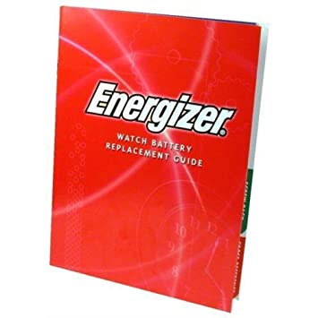 Amazon Energizer Watch Battery Replacement Guide Home Kitchen