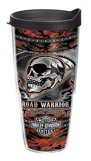 b79c3099e15 Image Unavailable. Image not available for. Color: Harley-Davidson Road  Warrior Camo Tervis Tumbler w/Black Lid ...