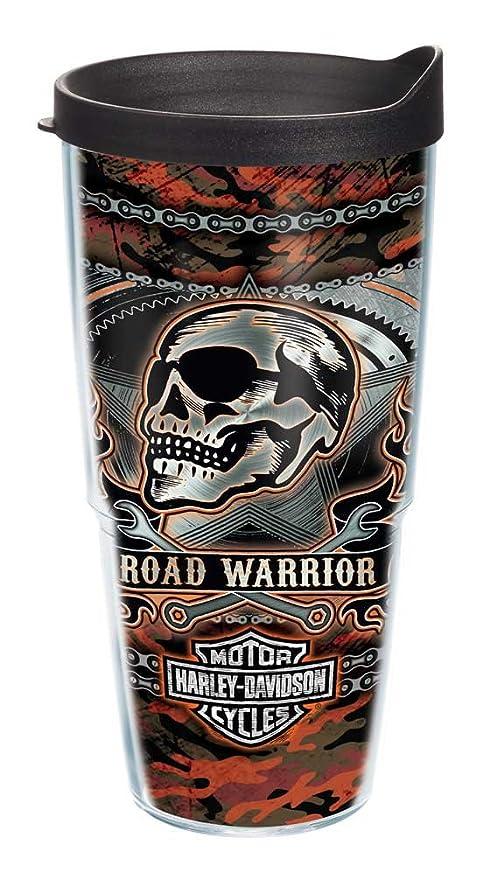 Amazon.com: Harley-Davidson Road Warrior Camo tervis Tumbler ...