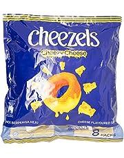 Twisties Cheezels Original Snack, 8 x 15g