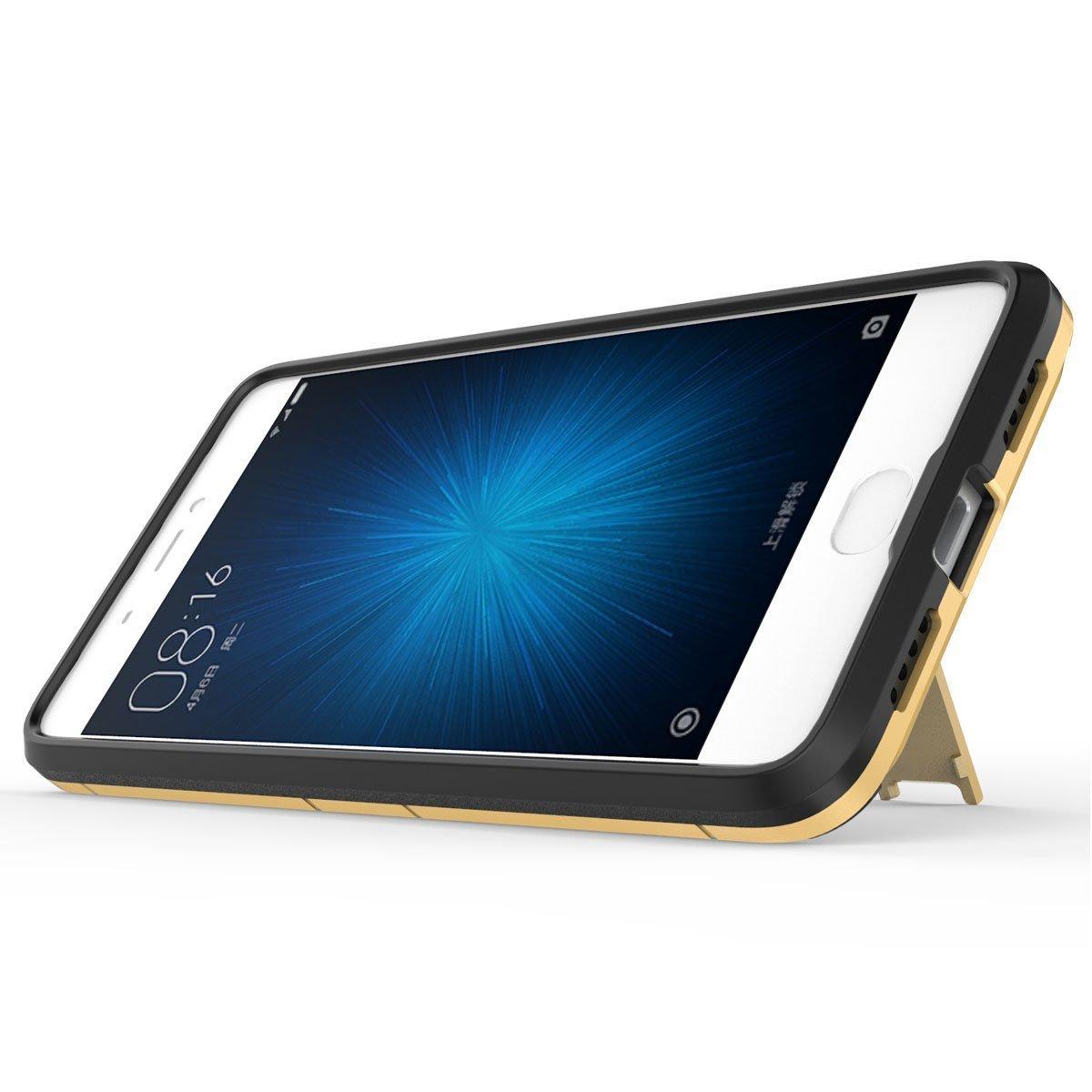 MaiJin Funda para Xiaomi Mi 5S Plus (5,7 Pulgadas) 2 en 1 Híbrida ...