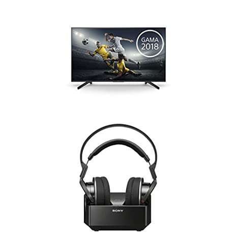 "Sony KD49XF7004BAEP - Smart TV de 49"" 4K Ultra HD con Soporte de ángulo Negro"