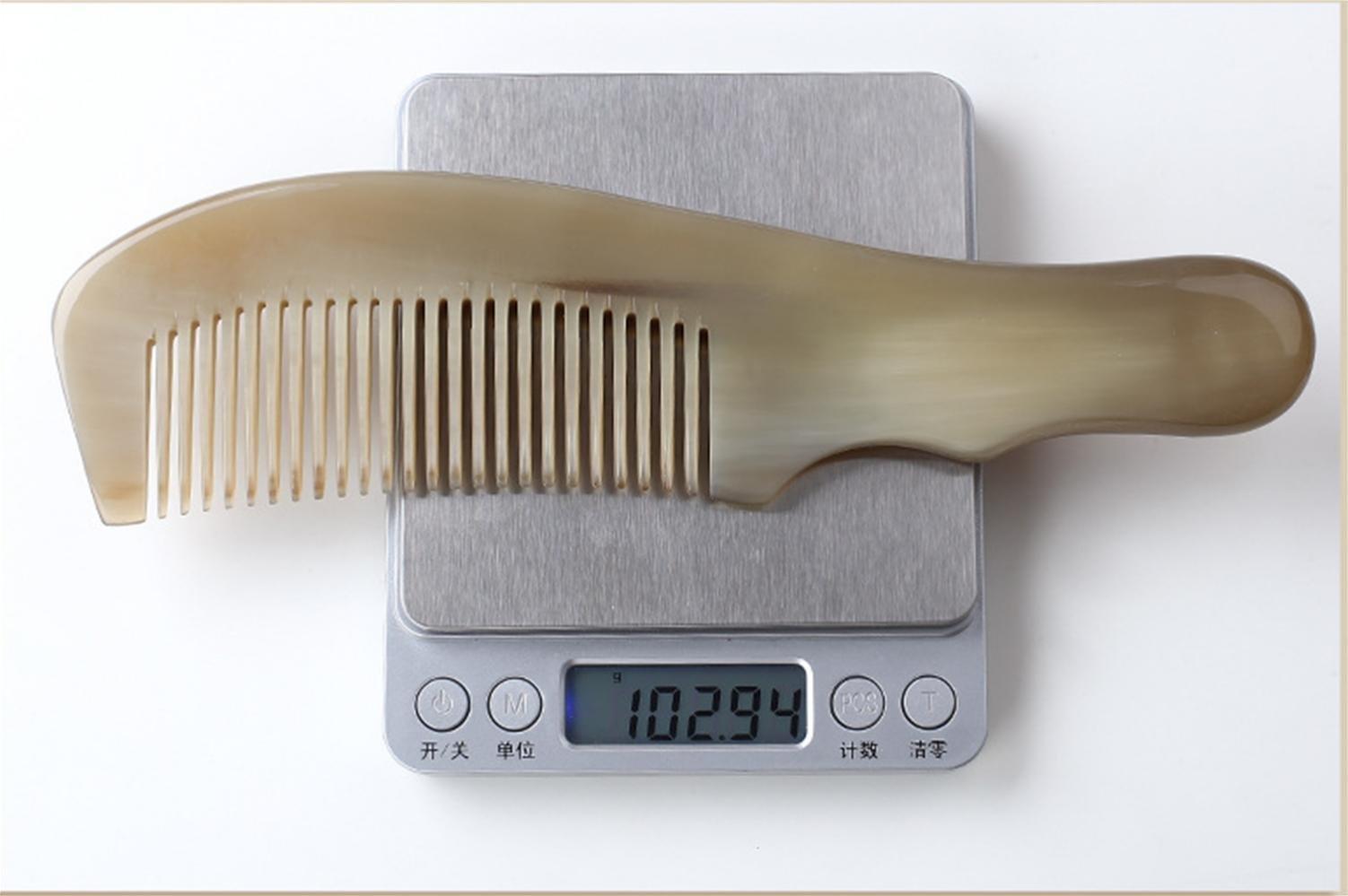 GuiXinWeiHeng Handmade white horns comb comb by GuiXinWeiHeng (Image #2)