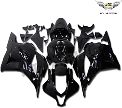 NT FAIRING Glossy Black Red Fairing Fit for HONDA 2009-2012 CBR600RR CBR 600RR New Injection Mold ABS Plastics Bodywork Body Kit Bodyframe Body Work 2010 2011 09 10 11 12
