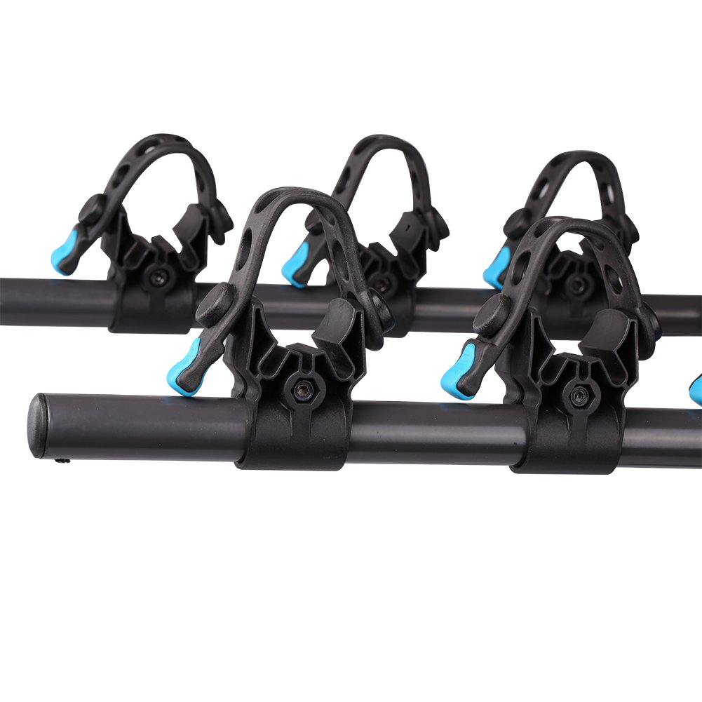 IKURAM 3-Bike Hitch Mount Bicycle Rack Foldable Fit 2 Inch Hitch Receiver by IKURAM (Image #4)