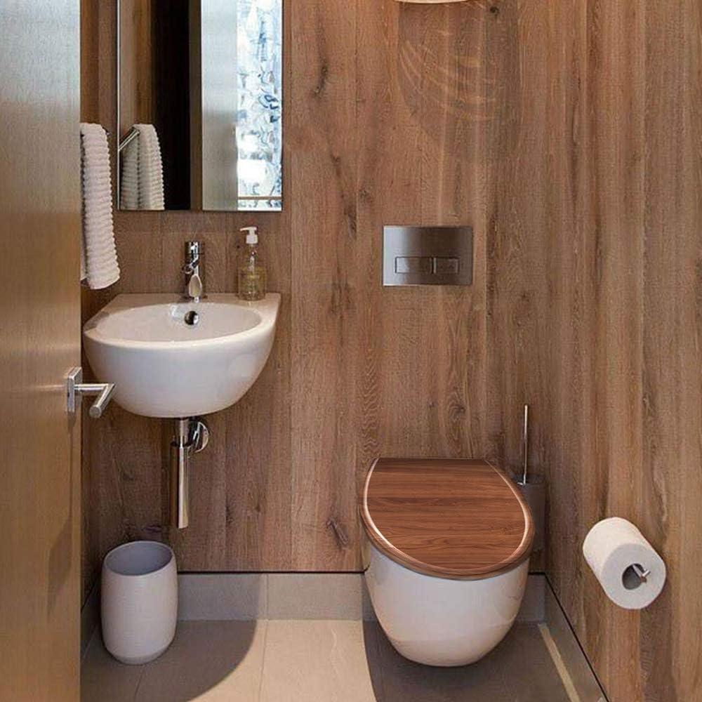 WC-Sitz Toilettendeckel Brücke mit Absenkautomatik-66