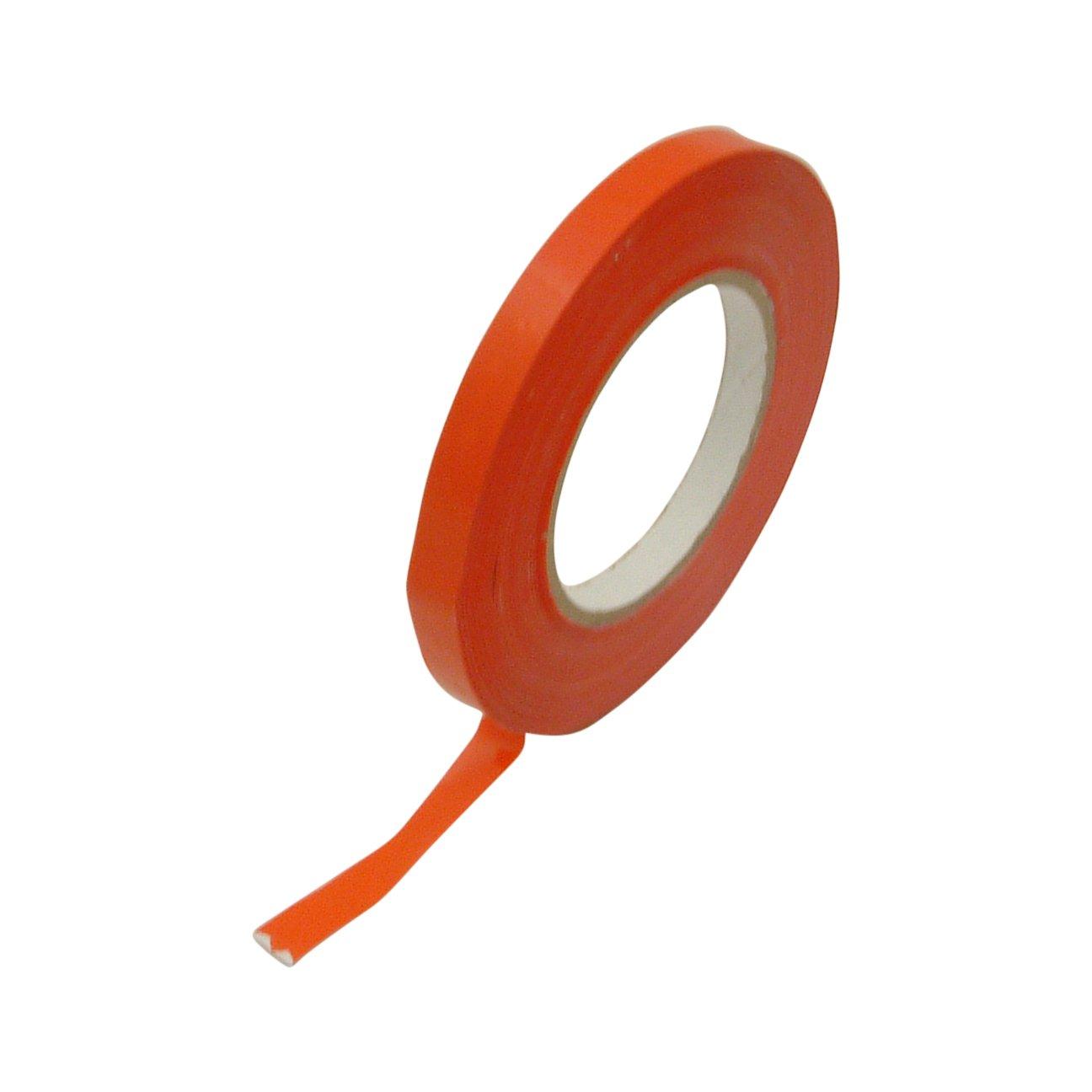 J.V. Converting BST-24/RD05180 JVCC BST-24 Bag Sealing Tape: 1/2'' x 180 yd., Red