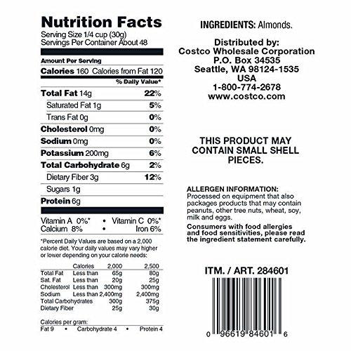 upc 096619268979 product image for Kirkland Signature Supreme Whole Almonds, 2 Pack (3 Pounds)