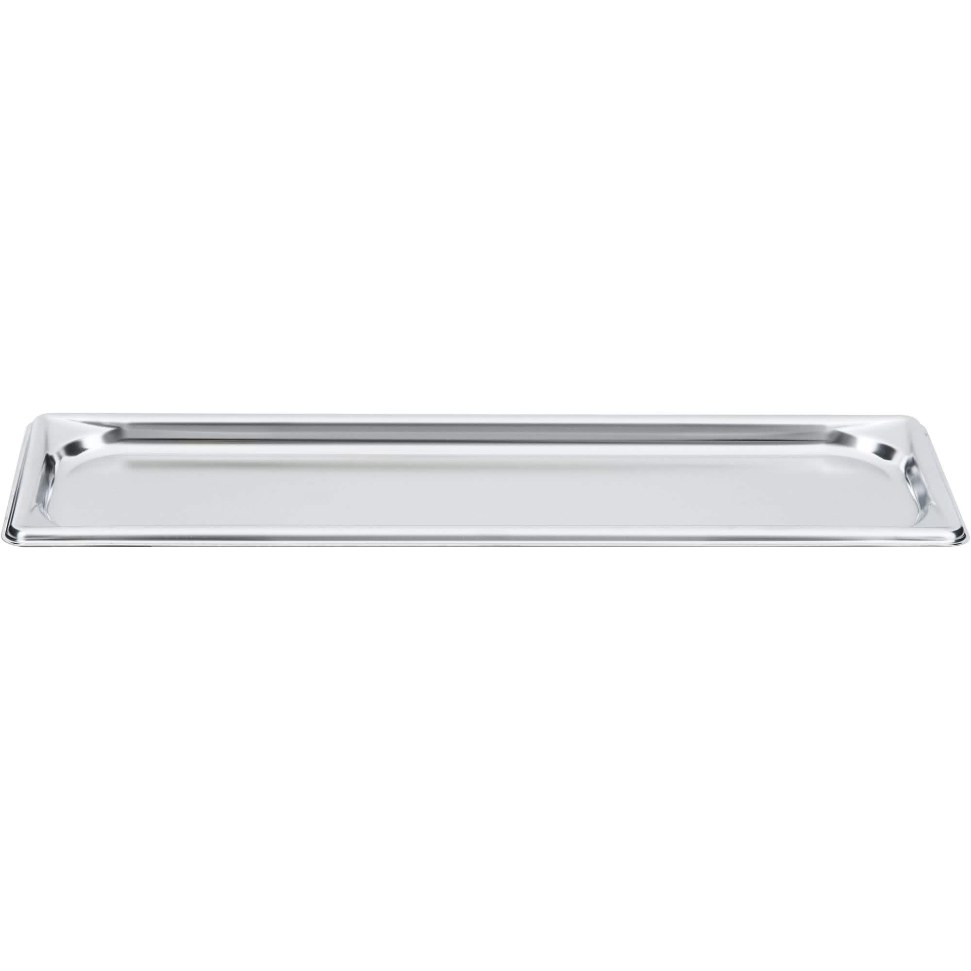 TableTop King 90502 Super Pan 3 1/2 Size Long Anti-Jam Stainless Steel Steam Table Tray - 3/4'' Deep by TableTop King