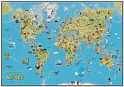 Cartina Mondo Per Desktop Tomveelers