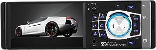 """Qiilu Universal 4.1"""" Autoradio HD Bluetooth avec Volant de Télécommande Stéréo Lecteur MP5 1 Din Portable Main Libre Entrée Arrière Caméra et Audio AXU/FM/AM et Interface USB (4012B)"""