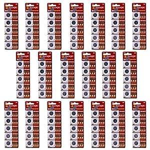 ZQ Hotsale Tianqiu CR1620 3V batería de litio de la célula del botón - Plata (20 paquetes / 100 PCS)