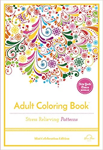 Buy Stress Relieving Patterns Adult Coloring Book Online At Low Prices In India