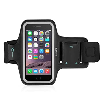 size 40 4203b 797ea iPhone 6s Armband, Anker Sport Armband for iPhone 6 / 6s (4.7 inch) for  Sports, Running, Jogging, Walking, Hiking, Workout and Exercise, Sweat-Free  ...