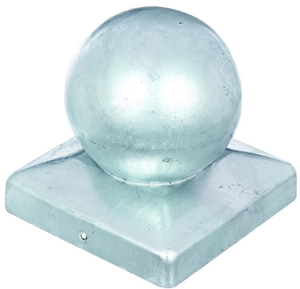 Gah-Alberts - Tapa embellecedora con bola para postes de madera 217303