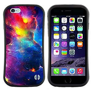 "Pulsar iFace Series Tpu silicona Carcasa Funda Case para Apple (4.7 inches!!!) iPhone 6 Plus / 6S Plus ( 5.5 ) , Vibrante Cielo Espacio Universo Cosmos Nebulosas"""