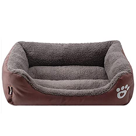 LA VIE Sofá Cama para Perro Impermeable en la Base Cojín Cama Cómoda y Suave para