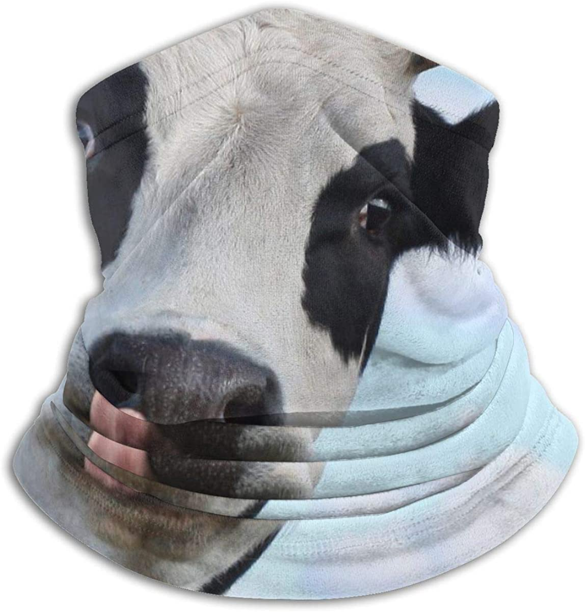 Aurora Ni Hereford Cattle Cow Blue Neck Gaiter Warmer Balaclava Headwear Face Scarf Bandana With Filters