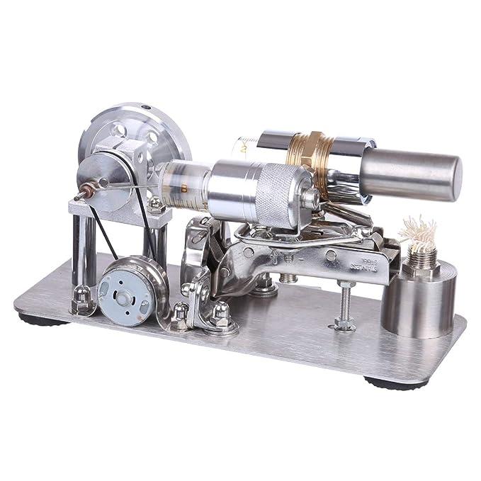 KEEPH Stirlingmotor Bausatz Externen Stirling-Gasturbinentriebwerks Modell Stirling Generator Engine Physik Experiment Spielzeug