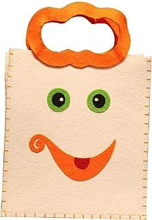 Treestar Halloween Goody bag Candy dolce mano vuoto Tote Gift bag Cloth contenitore per dolciumi parti, Style 8, 23cm*20cm*9cm