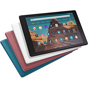 """All-new Fire HD 10 Tablet   10.1"""" 1080p Full HD display, 32 GB, Black with Special Offers"""