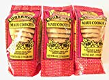 The Original Maui CookKwees Hawaii Cookies 3 Pack- 6 oz. Each (Coconut Macadamia Nut Shortbread)