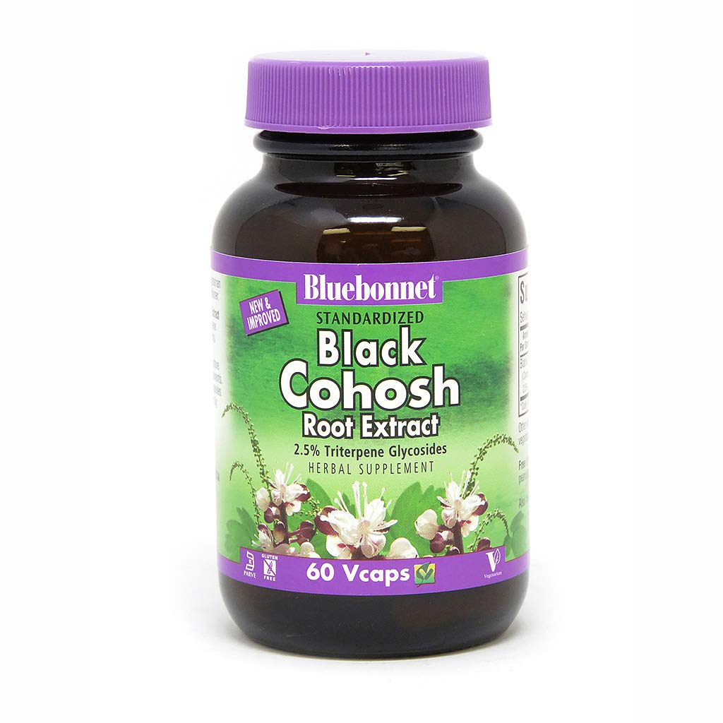 BlueBonnet Black Cohosh Root Extract Supplement, 60 Count