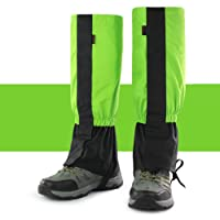 quanjucheer Legging Gaiters,Breathable Socks Climbing Boot Covers Leg Sleeves Outdoor Ski Snow Cover