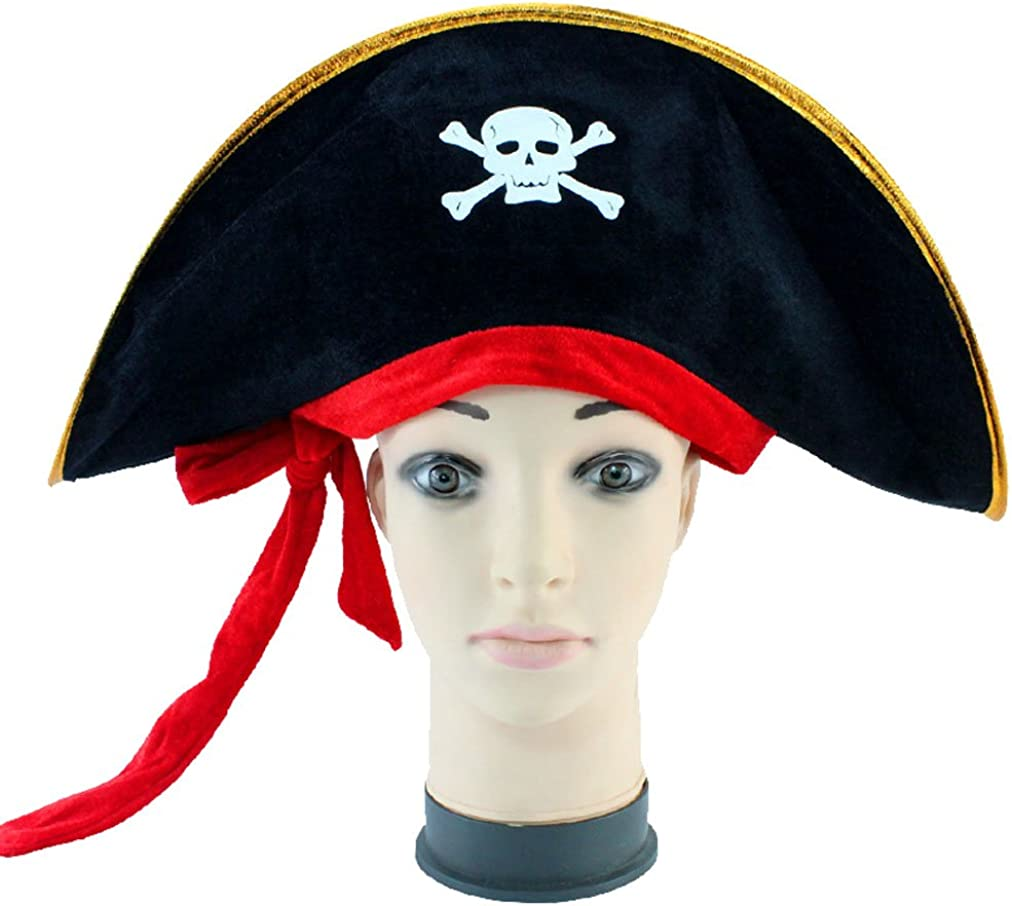 Halloween Medieval Pirate Costume for Men Jacobite Ghillie Renaissance Shirts Tops,Pirate Large Sash,Eye Patch
