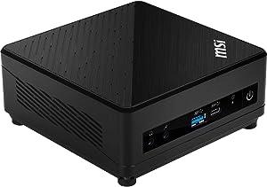 MSI Cubi 5 10M-066US Mini PC, Intel Core i5-10210U, 8GB DDR4 RAM, 256GB SSD, 1TB HDD, 802.11ac WiFi, BT 5.1, USB Type-C, Windows 10 Home