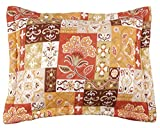 Stylemaster Home Products Kendall Printed Sham, Standard, Harvest