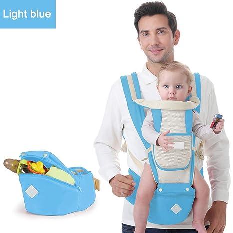 Blaward Baby Carrier Hip Seat, 6 en 1 multifuncional ajustable ...