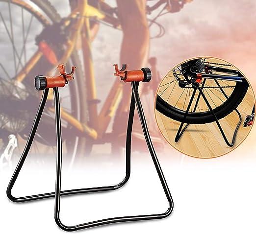 Ajboy - Estante de Aparcamiento para Bicicleta, portátil, Plegable ...