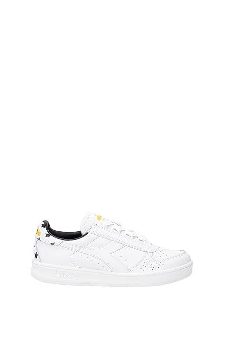 DIADORA HERITAGE uomo sneakers basse B.ELITE STARS 201.170648 01 C0351   Amazon.it  Scarpe e borse c026df9a07e