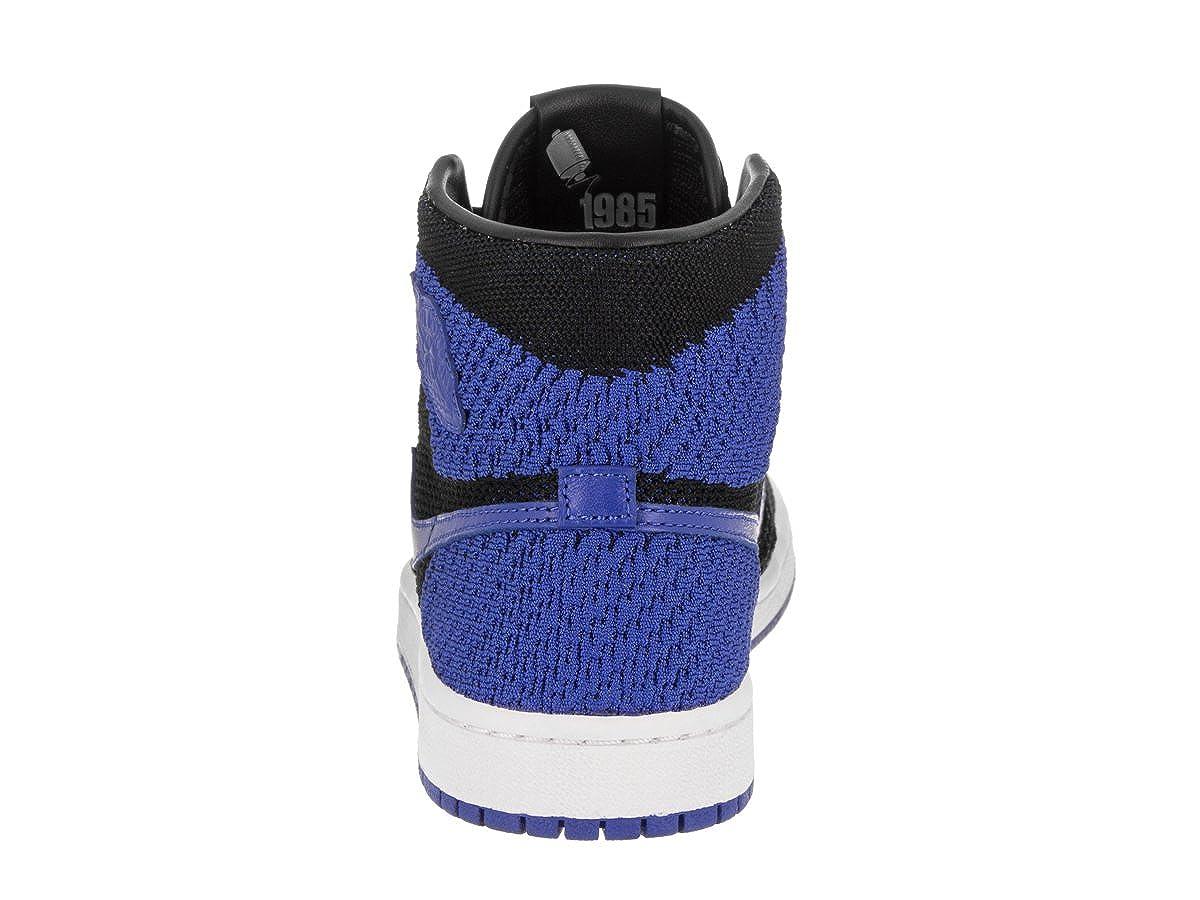 Nike Scarpe Uomo Air Jordan 1 Retro High Flyknit GS GS GS in Tessuto Nero e Rosso 919702-001   moderno    Uomini/Donna Scarpa  3e9fe5