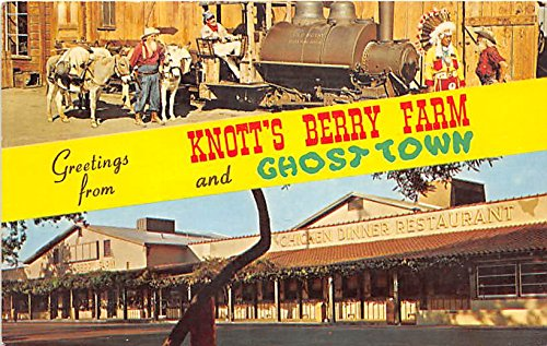 Old Betsy Knott's Berry Farm, Ghost Town, California, CA, USA Postcard Post Card