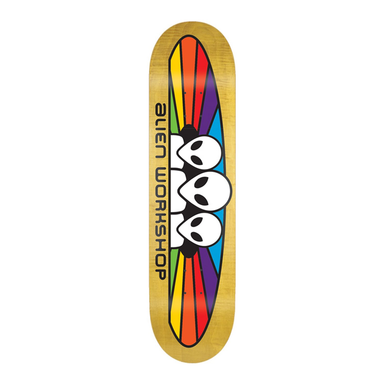 Moose Blank Skateboard Deck Keystone Skate Supply DMB-8SRED-P