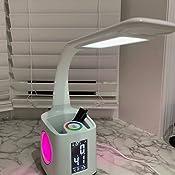 Wanjiaone Study Led Desk Lamp With Usb Charging Port