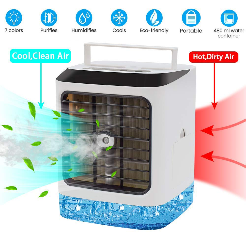 Evaporative Air Conditioner,Personal Space Cooler Portable Air Cooler