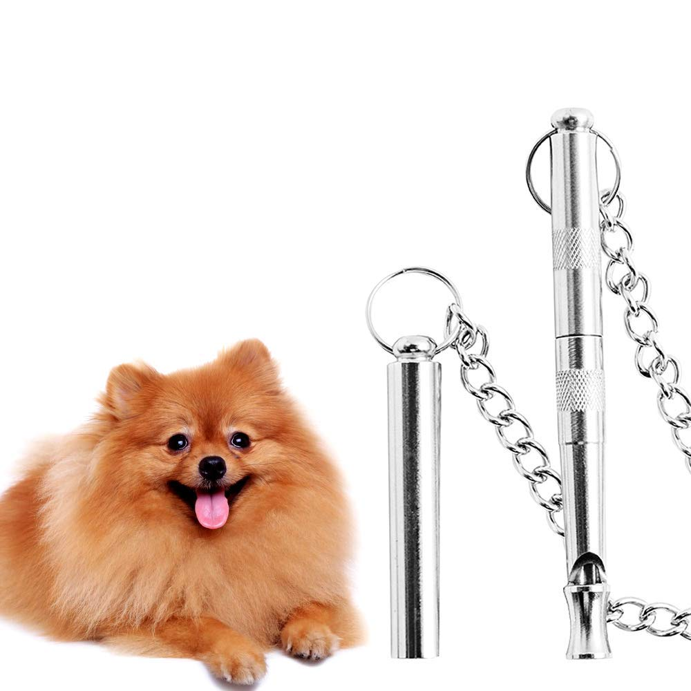 Dog Whistle&Dog Obedience Whistle &JACKSUN Adjustable Pitch Ultrasonic Recall Training Tool Dog Control Whistle with Premium Quality. by JACKSUN