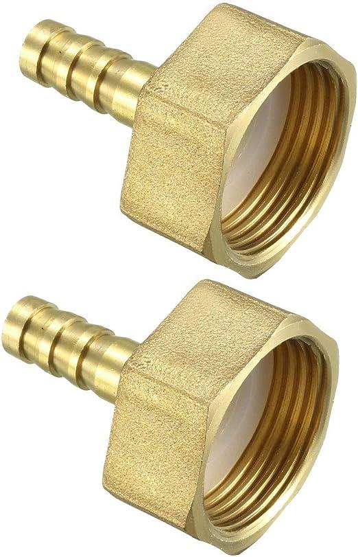 Sourcingmap a12010400ux0461-1//2npt a 3//8 filo adattatore pt giunto idraulico maschio
