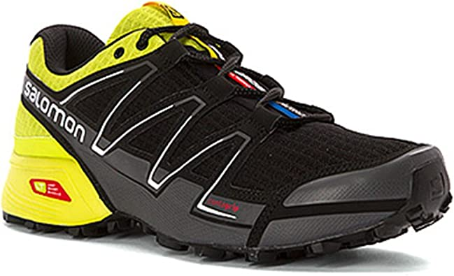 Salomon, zapatillas de correr para hombre Speedcross, color, talla 45 1/3 EU: Amazon.es: Zapatos y complementos
