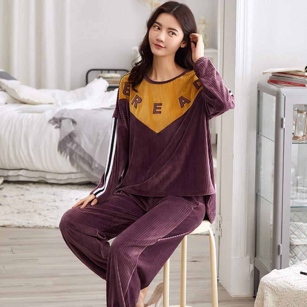 Bayrick Pijama de Hombre Invierno Polar,Pijama de Mujer Otoño ...
