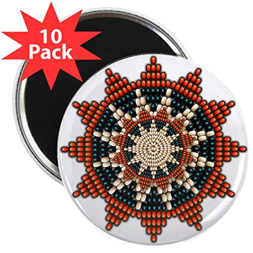 - CafePress - Native American Sunburst Rosette 2.25