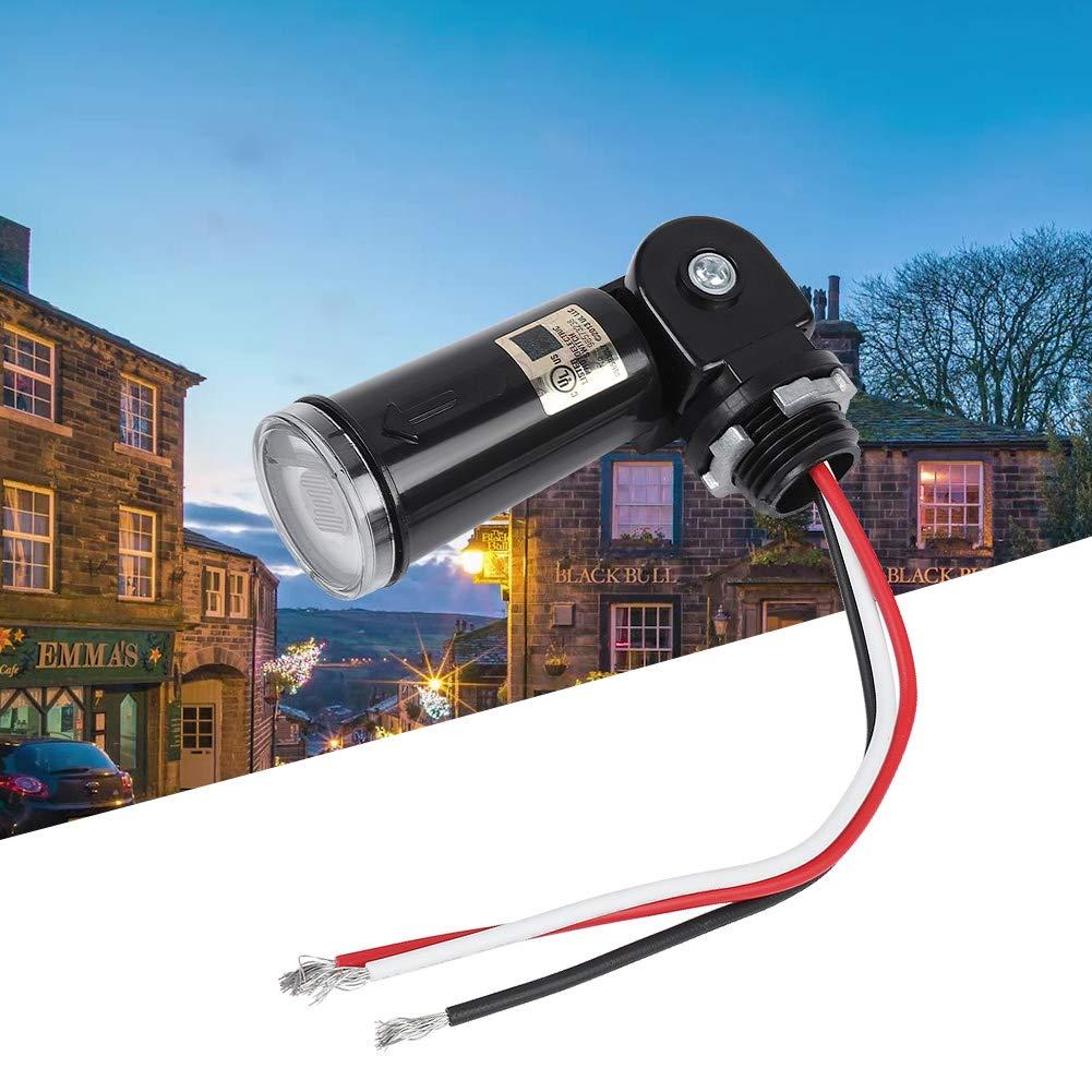 120v Led Light Sensor Control Automatic On  Off