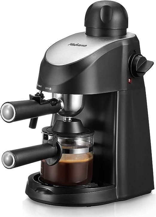 Amazon.com: Yabano - Cafetera espresso de 3,5 bar, cafetera ...