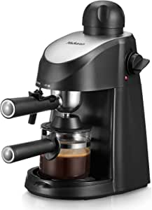 Yabano Espresso Machine, 3.5Bar Espresso Coffee Maker, Espresso and Cappuccino Machine with Milk Frother, Espresso Maker with Steamer